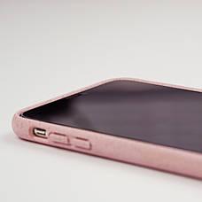 Биоразлагаемый чехол ECO Wheat Straw для iPhone X / Xs Pink, фото 3