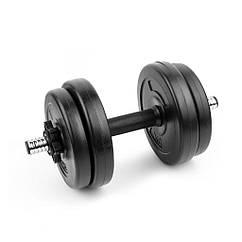 Гантель наборная композитная Spokey BURDEN SET 7,5 кг Черная (s0275)