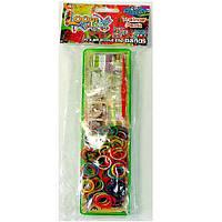 Набор резинок для плетения 200 шт + станок Loom Twister