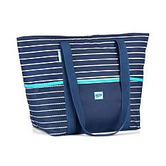 Пляжна термосумка Spokey Levante 53x21x34 см Темно-синій (s0387)