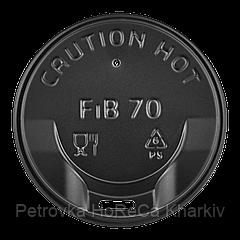 Крышка FiB 70 Черная 50шт/уп.175 стакан (1ящ/40уп/2000шт)