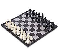 Набір ігор Шахи шашки нарди 3 в 1 ZELART Дорожні пластикові магнітні Дошка 32x 32см (IG-48812)