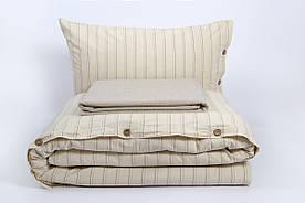 Постельное белье Barine Washed cotton - Sunday beige бежевый семейный