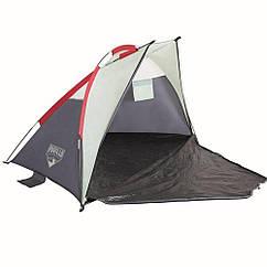 Пляжная палатка Bestway 68001 Ramble тент Бело-серый (006802)