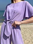 Костюм жіночий креп жатка на літо, фото 2