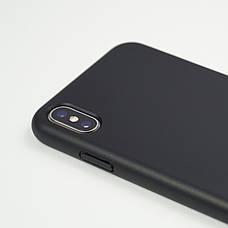 Биоразлагаемый чехол ECO Wheat Straw для iPhone X / Xs Black, фото 3