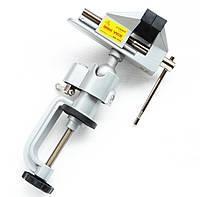 Мини тиски поворотные (алюминиевый сплав) R'Deer RH-002
