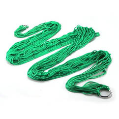 Гамак сетка на кольцах Kronos Top 270 х 80 см Green (gr_003793)