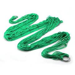 Гамак сітка на кільцях Kronos Top 270 х 80 см Green (gr_003793)