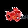 Крепление ручки красное бензокосы 28 мм