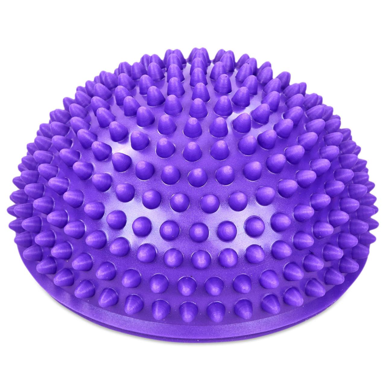 Полусфера массажная балансировочная planeta-sport Balance Kit FI-0830 16 см Фиолетовый