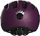 Велосипедний дитячий шолом ABUS SMILEY 2.0 M Royal Purple (775499), фото 3
