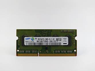 Оперативная память для ноутбука SODIMM Samsung DDR3 2Gb 1333MHz PC3-10600S (M471B5773DH0-CH9) Б/У