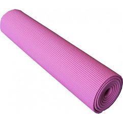 Коврик для йоги и фитнеса Power System PS-4014 173х61х0.6 см Розовый (36-145265)