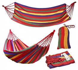 Гамак гавайський тканинний 200x80 см Різнобарвний (200782)