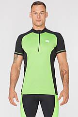 Мужская велофутболка Radical Racer SX Зеленая XXL (r0628)