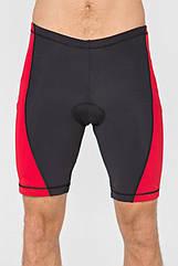 Мужские велошорты Radical Racer Pro XL Черно-красные (r0700)