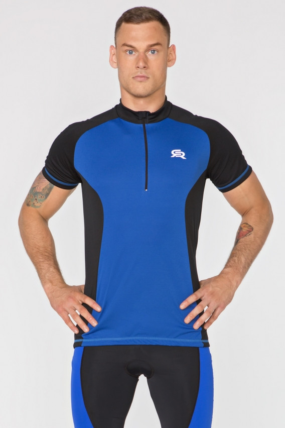 Мужская велофутболка Radical Racer SX M Черно-синий (r0617)