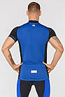 Мужская велофутболка Radical Racer SX M Черно-синий (r0617), фото 2