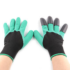 Садовые перчатки Garden Genie Gloves AY27288 Зеленый (mt-284)