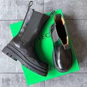 Женские ботинки BOTTEGA VENETA Boots Black sole
