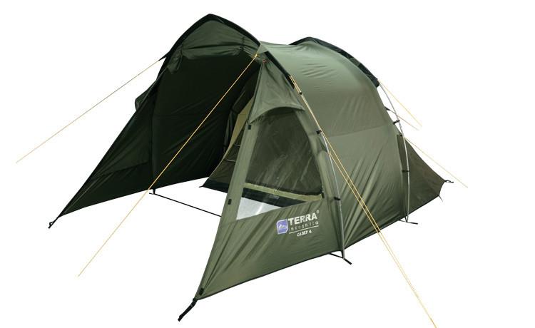 Палатка Terra Incognita Camp 4 Хаки (TI-03361)