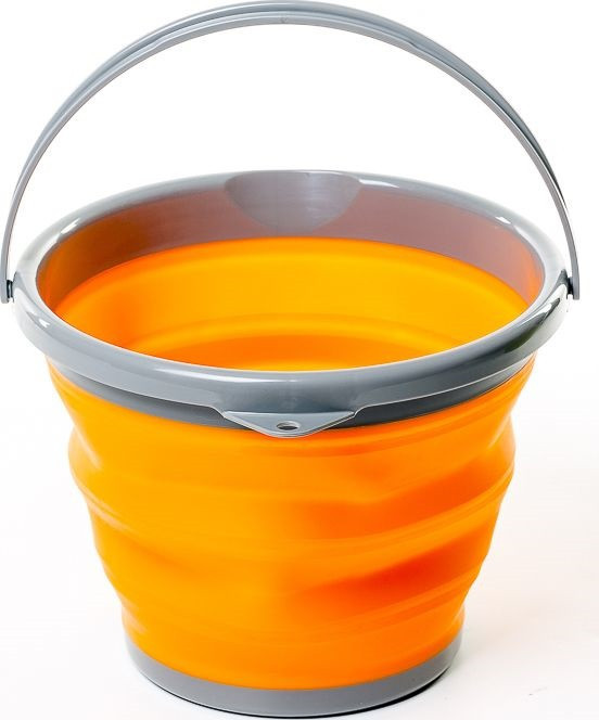 Ведро складное силиконовое Ranger RA 8854 на 5 л, оранжевое