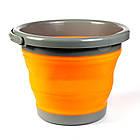 Ведро складное силиконовое Ranger RA 8854 на 5 л, оранжевое, фото 2