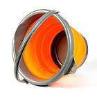 Ведро складное силиконовое Ranger RA 8854 на 5 л, оранжевое, фото 5