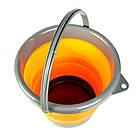 Ведро складное силиконовое Ranger RA 8854 на 5 л, оранжевое, фото 6