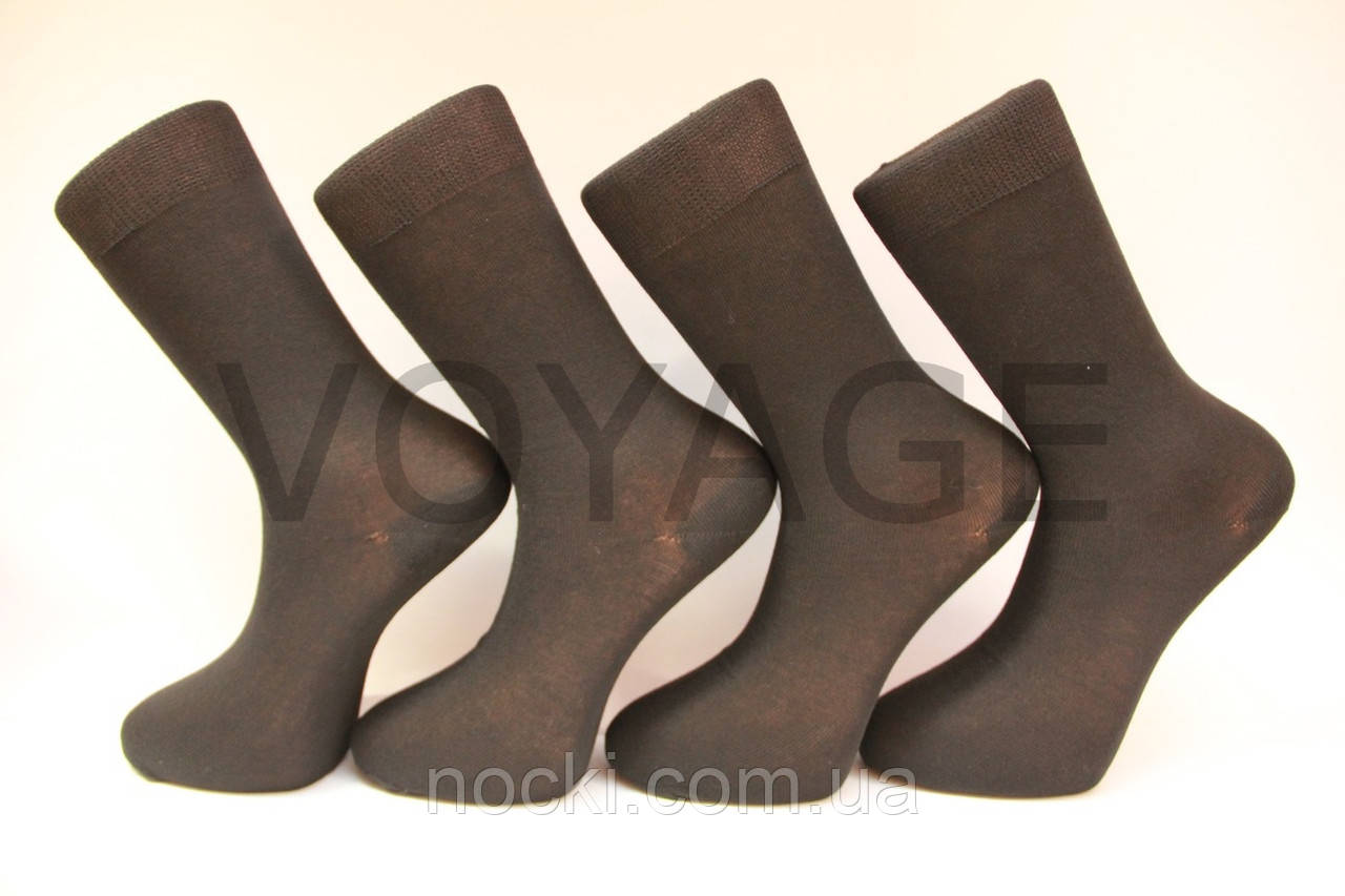 Хлопковые мужские носки МОНТЕКС №18, кеттельный шов, усиленные пятка и носок