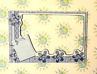 Магнитная рамка на холодильник Бантики