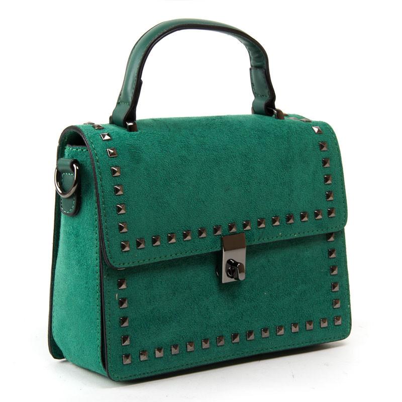Жіноча сумка зелена 20*16*9 див. BST 300328