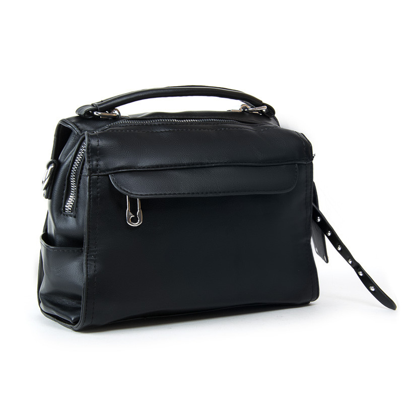 Женская сумка через плечо 25*20*13 см. черная BST 300333