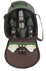 Набір для пікніка Ranger Compact HB2-350 2225 RA 9908 Зелений з коричневим