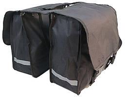 Велосипедна сумка на багажник Сrivit Чорний (S061785)
