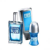 Чоловічий парфумний набір Avon Individual Blue