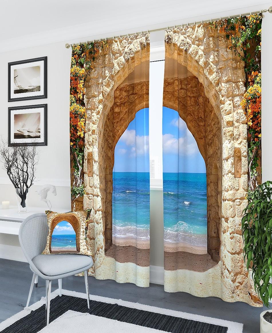 Фотошторы арка до океану