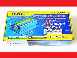 Зарядное устройство для автомобиля 12 вольт 30 ампер, UKC Battery Charger 30A