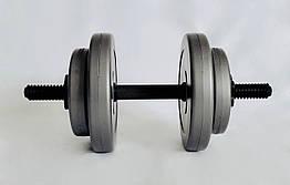 Гантель WCG 8 кг Серая (310.001.009)