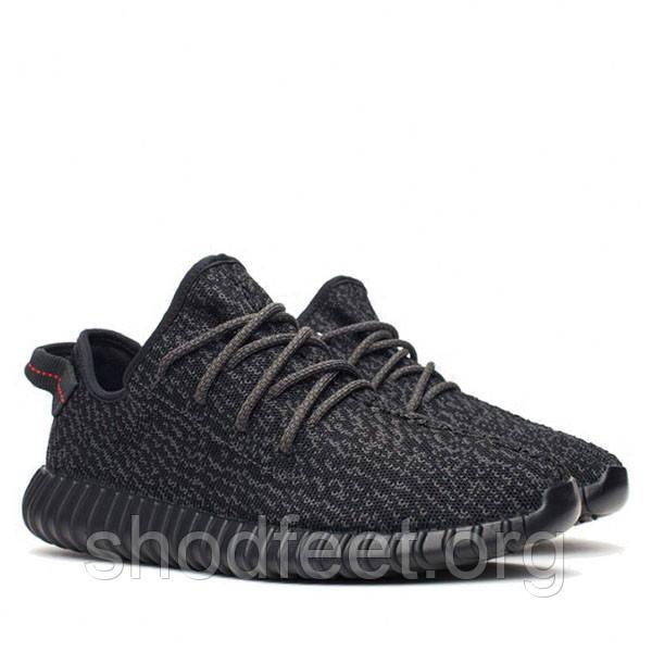 Женские кроссовки Adidas Yeezy Boost 350 Kanye West Low Black