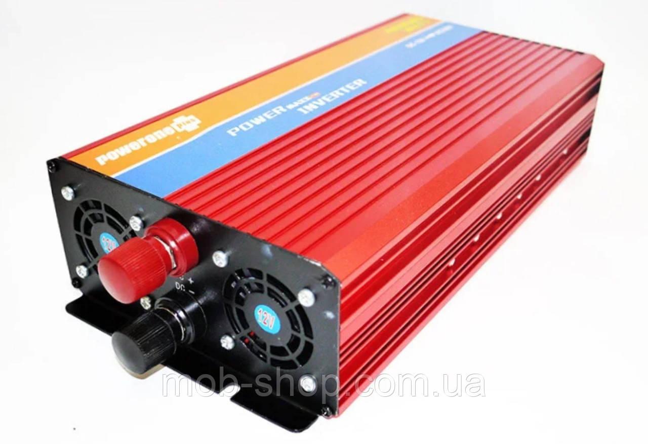 Инвертор Power Inverter 4000W 12V в 220V с функцией плавного пуска