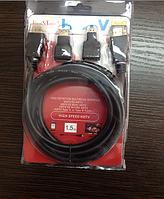 Кабель HDTV 1,5 m (3 in1) код 5678