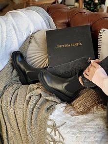 Женские ботинки 𝐁𝐨𝐭𝐭𝐞𝐠𝐚 𝐕𝐞𝐧𝐞𝐭𝐚 black