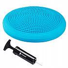 Балансировочная подушка сенсомоторная массажная Springos PRO FA0088 Sky Blue, фото 6