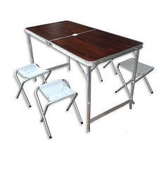 Стіл трансформер для пікніка Trends Folding table red (5464)