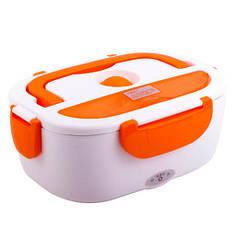 Ланч-Бокс з підігрівом Electric Lunch Box Y001 від мережі 12 В Помаранчевий (LS1010053882)