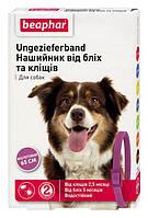 Ошейник Беафар для собак от блох и клещей фиолетовый 65 см, Beaphar