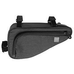Велосумка під раму Sahoo 121469-SA Frame Bag Rear 1L Grey (6920636793630)