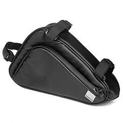 Велосумка під раму Sahoo 122065 Frame Bag 1,5 L Black (6920636792916)